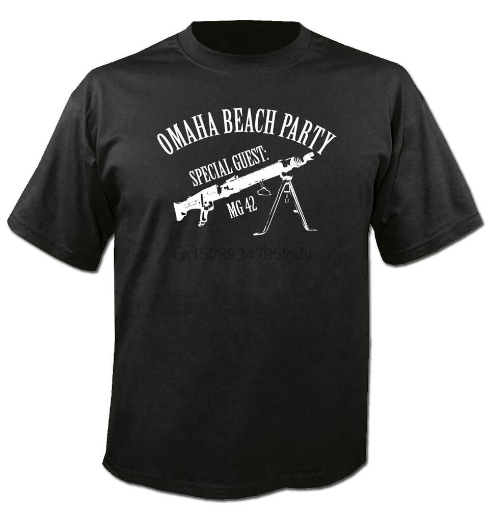 T Shirt Hoody Sweatshirt Mg42 Omaha Beach Party Ww2 Kultus Jerman Bahasa Jerman