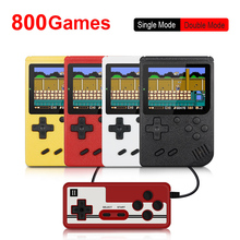 800 IN 1 Retro Video Game Console Handheld Game Portable Pocket Game Console Mini Handheld Player for Kids Gift