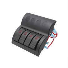 240W Waterproof SWITCH PANEL FOR BILGE PUM Switch DC12-24V Marine Boating Accessorie