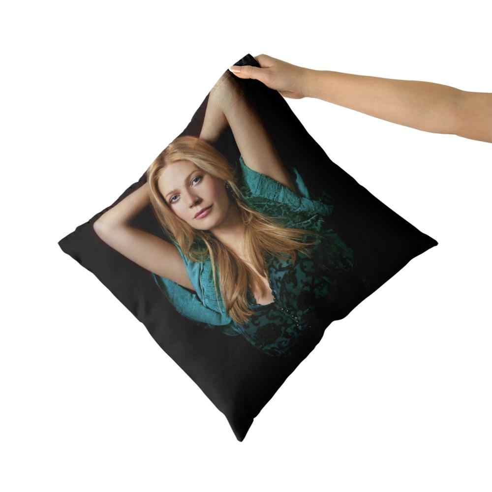 Gwyneth Paltrow Cotton Canvas Custom Pillow Custom Covers Throw Pillow Pillow Covers Sofa Pillow Cushion Cover Aliexpress