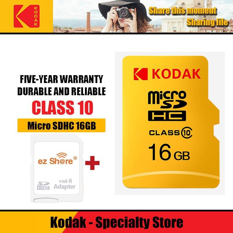 Ez Share Wireless Wifi Adapter+Kodak U1 Micro SD Card 16 32 64 128gb Class10 Microsd Wifi Wireless TF Card Memory Card