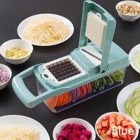 Manual cortador de legumes slicer acessórios cozinha multifuncional redondo mandoline slicer queijo batata cozinha gadgets|Processadores de alimentos| |  -