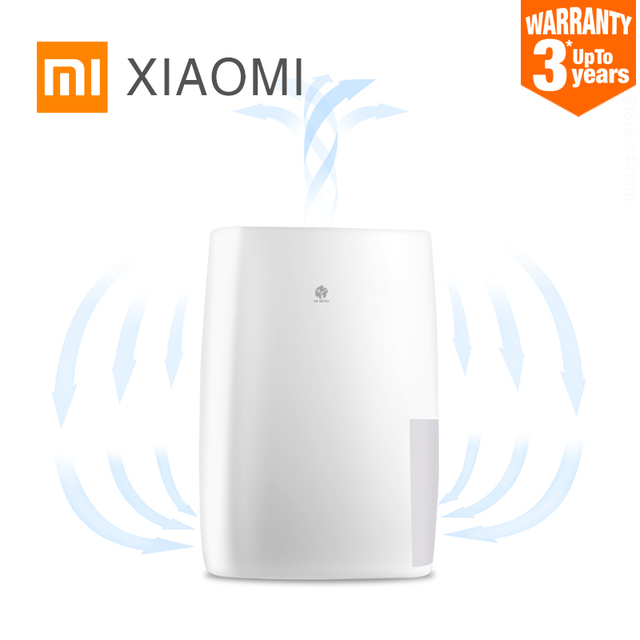 New XIAOMI MIJIA NEW WIDETECH Smart Dehumidifier for home Multifunction Electric Air Dryer heat dehydrator moisture absorber
