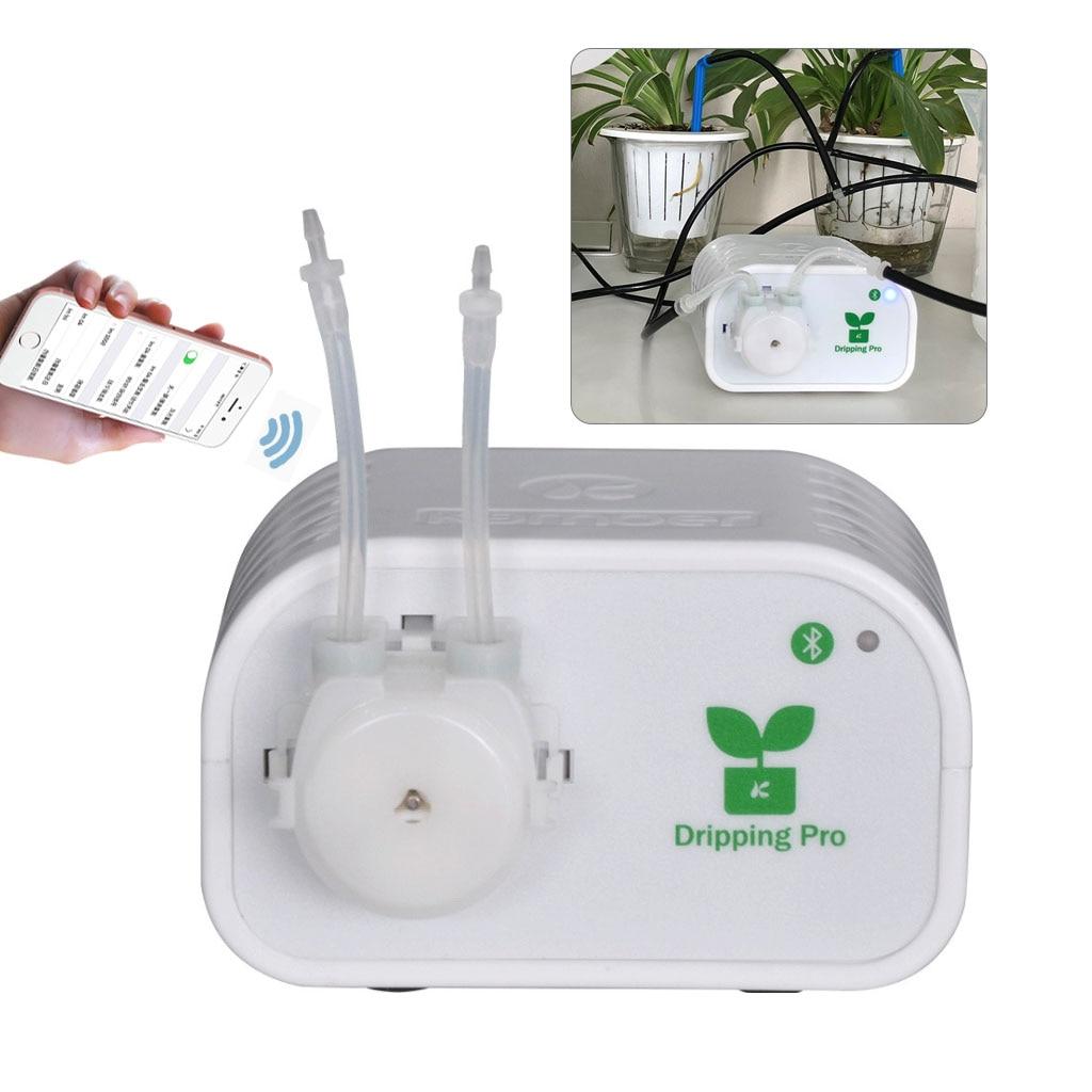 Système d'irrigation goutte à goutte contrôle de téléphone Mobile tuyau d'arrosage automatique Micro goutte à goutte jardin Kits d'arrosage avec goutteurs J25