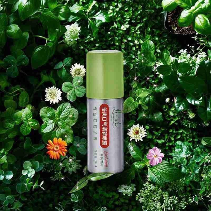 20ml Peppermint Breath Freshener Oral Spray Deodorizing Care Spray Mint Bad Odor Halitosis Treatment Clean Mouth Drop Shipping 3