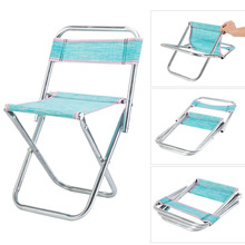 New folding chairs fishing chair stainless steel folding stool Outdoor portable mesh chair Fishing stools