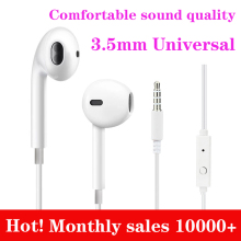 G9 Universal Ear Hook Wired Earphone 3.5mm For Android Huawei Xiaomi Oppo Mobile Phone