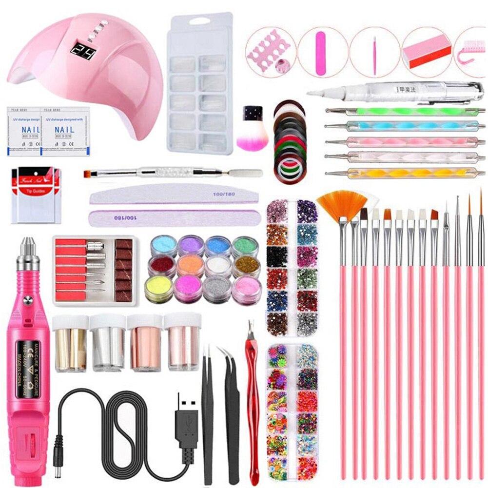 2019 conjunto de ferramentas manicure prego 04