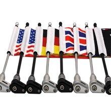 1 Set New Motorcycle Rear Side Mount Flag Pole America Flag Moto styling For Honda Goldwing GL1800 GL1500 GL1200 2001-2011