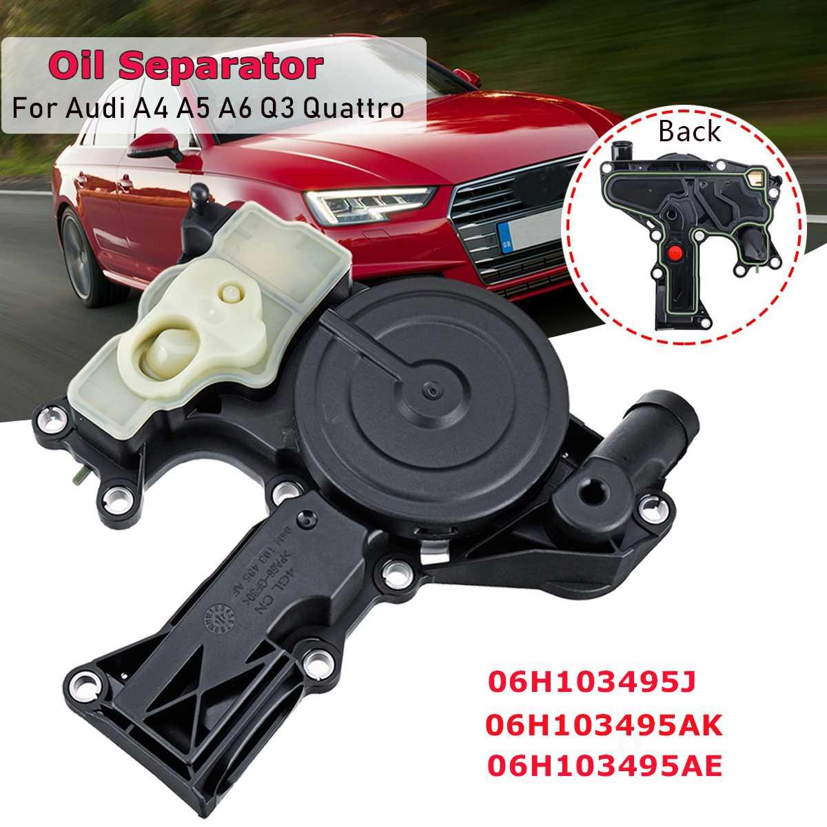 Oil Separator PCV Valve For Audi A4 A6 Q3 Q5 Quattro 06H103495AE 06H103495J US
