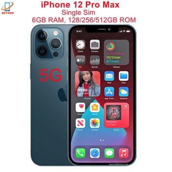 "Genuine Apple iPhone 12 Pro Max 6.7"" RAM 6GB ROM 128/256/512GB A14 Bionic IOS Face ID NFC Unlocked Original 5G Cell Phone 1"
