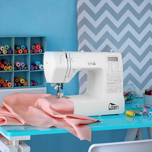 Sewing-Machine Double-Thread Multifunction Household Electronic And LED Crafting Speed-Free-Arm