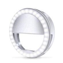 Светодиодный кольцевой светильник для селфи для samsung Galaxy A70 A50 A40 A30 3, яркий телефонный светильник s для Xiaomi CC9 Redmi K20 Pro Luz Movil