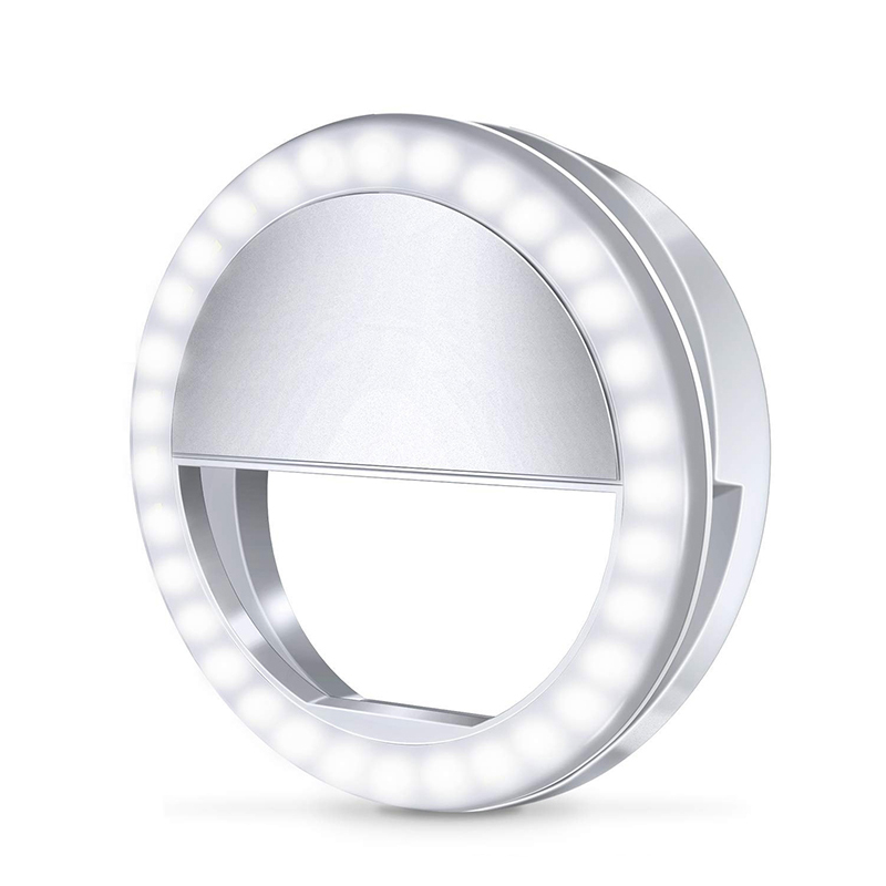 Selfie LED Ring Light Flash For Samsung Galaxy A70 A50 A40 A30 3 Brightness Phone Lights For Xiaomi CC9 Redmi K20 Pro Luz Movil