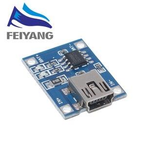 Image 2 - 100Pcs מיקרו USB 5V 1A 18650 TP4056 ליתיום סוללה מטען מודול טעינת לוח עם הגנה כפולה פונקציות 1A ליתיום