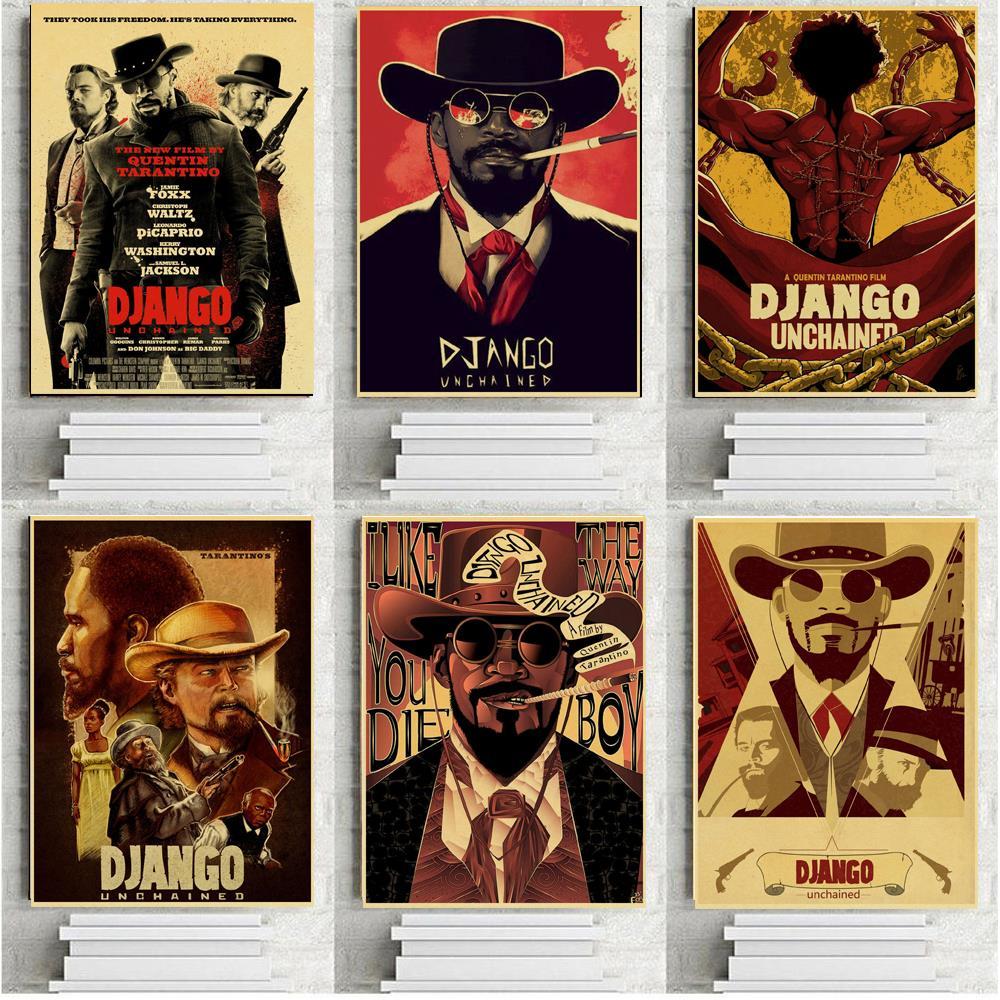 Плакаты по мотивам фильма Квентин Тарантино, ретро постер из крафт-бумаги, не цепляется, настенная живопись, ВИНТАЖНЫЙ ПЛАКАТ, домашний деко...