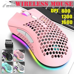 LEORY Portable RGB Gaming Mouse with Three Adjustable DPI Ergonomic Design for Desktop Laptop for Gamer USB Wirless Gaming Mouse