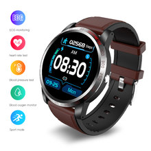 Smart Watch Men ECG Heart Rate Monitor smart bracelet Activity Fitness Tracker Sport IP67 Waterproof SmartWatch For Android iOS(China)