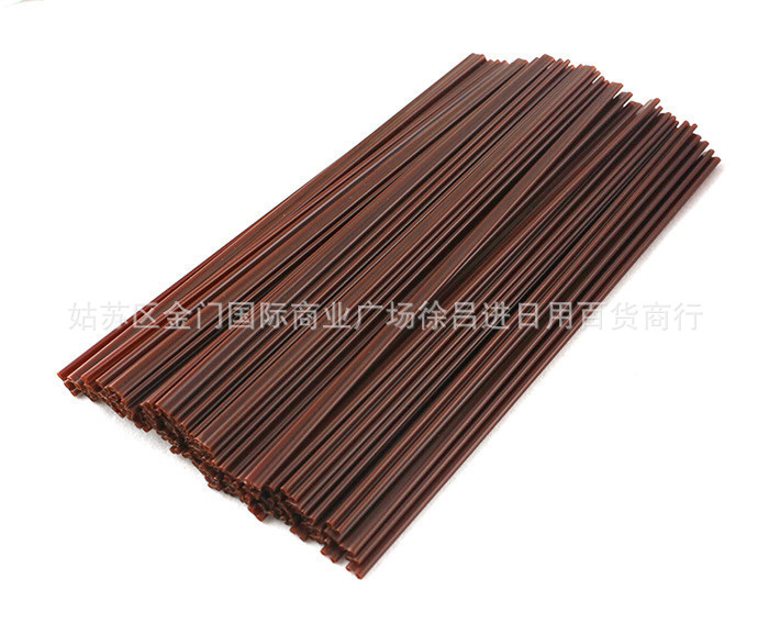 Disposable Hot Drinks Tube Coffee Straw Diplopore Straw Two Hole Coffee Tube Coffee Stir 500 Of Wholesale