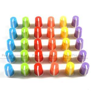 30PCS Replace EQ Rotary Knob For Pioneer DJ MIXER DJM djm-2000 900 850 750 700 800 DAA1176 DAA1305 colorful you can chose(China)