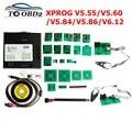 XPROG-M 6 12 металлическая коробка XPROG V5.55 V5.86 Xprog V6.12 V6.17 Авто ECU rogrammer инструмент X прог-бокс 5 55 5 86 6 12 6 17 Полный Адаптеры