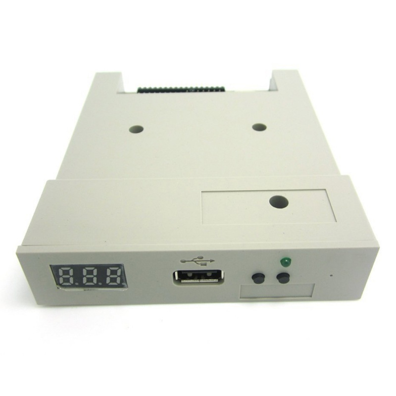 SFR1M44 U100 USB Floppy Drive Emulator ABS Machine For Industry Grey