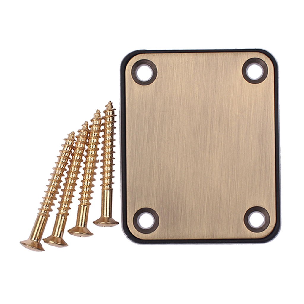Guitar Neck Plate For TL Style Electric Bass Guitar Parts DIY Accessories For ST/SQ/TL Style Electric Guitar/Bass