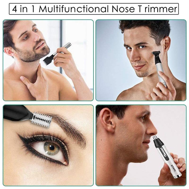 Купить триммер KEMEI 6650 универсальный для бороды, носа и ушей