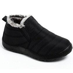2019 moda botas de inverno botas de neve ao ar livre sapatos de inverno dos homens das sapatilhas mais tamanho botas militares à prova dwaterproof água sapatos de trabalho