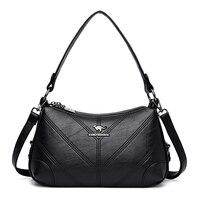 2019 New Luxury Shoulder Bag female Hobos Designer PU Leather Handbag Ladies Fashion Carteras Mujer De Hombroy Bolsos sac femme