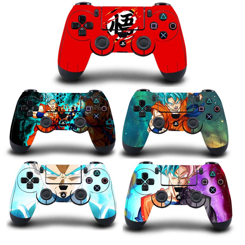 Dragon Ball Super PS4 Fat Slim Pro Controller Skin Sticker Vinyl Decal Sticker for PlayStation 4 DualShock 4 Wireless Controller