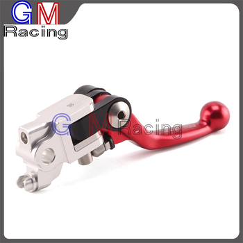 4 Directions Foldable Pivot Brake Lever For HONDA CRF250R CRF450R CRF 250R 450R 2007 2008 2009 2010 2011 2012-2017 Dirt Bike image