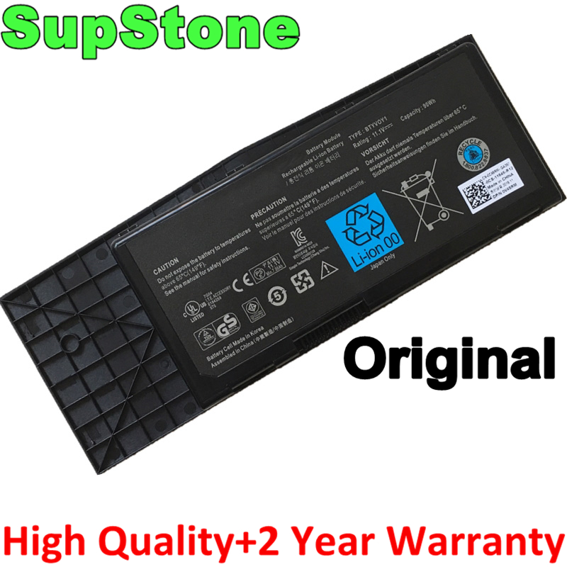 SupStone Genuine Original BTYVOY1 Laptop Battery For Dell Alienware M17X R3,M17X R4 05WP5W CN-07XC9N 318-0397 7XC9N