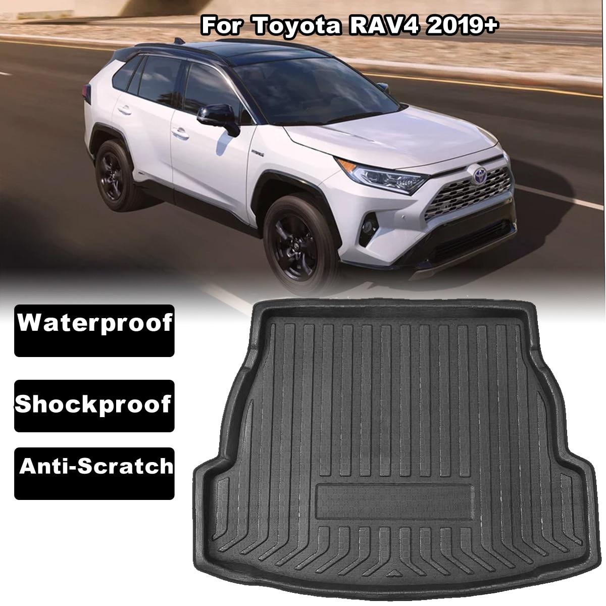 Car Mat Boot Pad Carpet Cargo Mat Cargo Liner Cargo Cover Trunk Liner Tray Floor Mat for Toyota Prius 2016 2017 2018 2019 2020