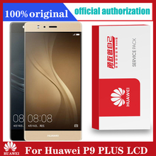 Original For Huawei P9 Plus LCD Display Touch Screen Digitizer Assembly Parts For P9 Plus Display With Frame