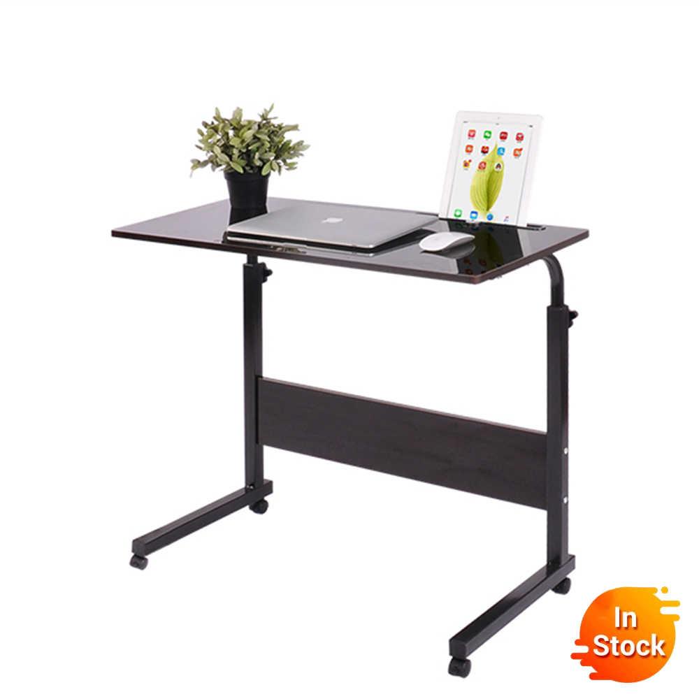 новинка 2018 года компьютерный стол складной стол для компьютера Регулируемый Портативный стол для ноутбука Рабочий стол80*40 см Стол-трансформер парта для ученика стол для школьника учебный стол