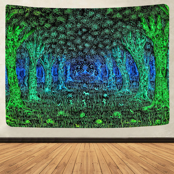 Simsant Psychedelic Shrooms Tapestry Colorful Abstract Trippy Tapestry Wall Hanging Tapestries for Home Dorm Fantasy Decor 31