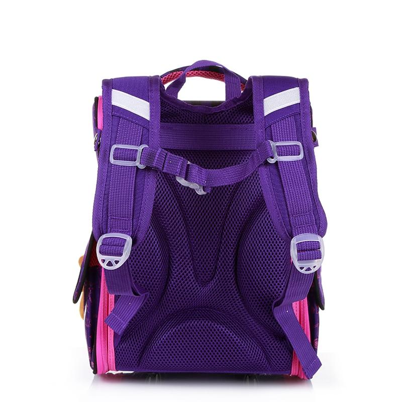 New Fashion Cartoon School Bags Backpack for Girls Boys Bear Cat Design Children Orthopedic Backpack Mochila Infantil Grade 1-5 3