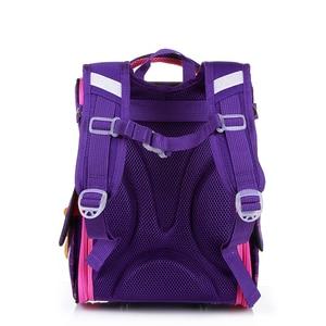 Image 3 - New Fashion Cartoon School Bags Backpack for Girls Boys Bear Cat Design Children Orthopedic Backpack Mochila Infantil Grade 1 5
