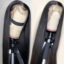 Парики из человеческих волос на сетке спереди 13 х4 с эластичной