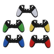Protective Skin Cover Silicone Thumbstick Grip Case Shell Anti-Slip Accessories for Sony Playstation PS4 Wireless Controller Gam стоимость