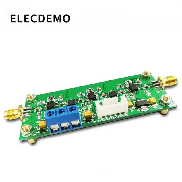 Adjustable Gain Amplifier Module 30K 200M Wideband Programmable Amplifier 65dB Gain 0.5dB Stepping