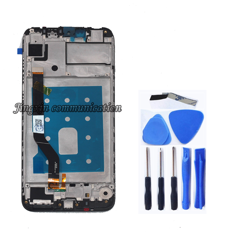"Image 2 - 6.3 ""Original display for Huawei Y7 2019 LCD+touch screen digitizer replaced for Huawei Y7 Prime 2019 LCD repair parts free post-in Mobile Phone LCD Screens from Cellphones & Telecommunications"