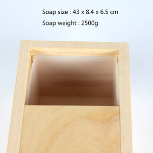 Image 2 - Long Size Soap Silicone Mold Rectangle with Wood Box Handmade Swirl Loaf Soaps Making Tool Mould