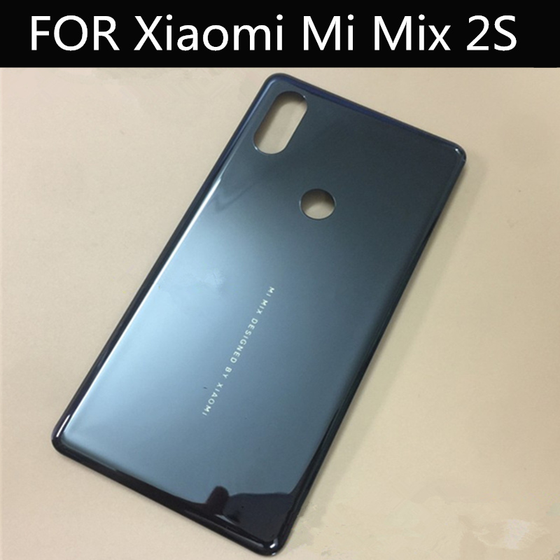 FOR Xiaomi mi mix2s ceramics back battery cover for xiaomi mi mix 2S battery door case back cover Housing|Mobile Phone Housings & Frames| |  - title=