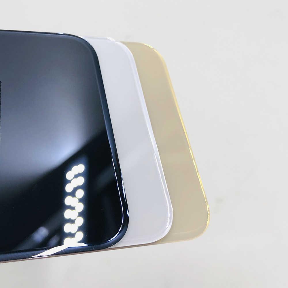 С большими отверстиями, кулоны А-Стекло заднюю часть тела Корпус чехол металлический каркас Батарея, задняя крышка для iphone X XS MAX чехол для телефона чехол s Корпус задняя крышка