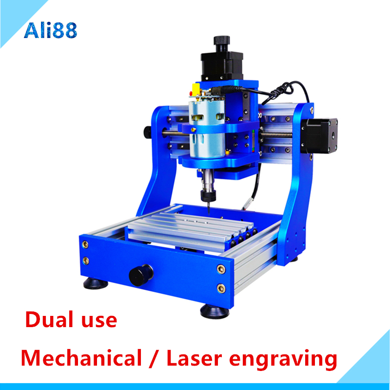 Mini CNC Machine Engraving Machine/laser Engraving Machine With 500mW Laser Head For Wood Acrylic PCB Router/Cutter/Printer
