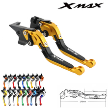 For Yamaha XMAX logo X-MAX X MAX XMAX 250400 XMAX250 XMAX400 motorcycle accessories aluminum aluminum brake clutch lever for yamaha xmax 300 250 400 2017 2018 front brake pump oil cup cap reservoir cover xmax300 xmax250 xmax400 x max accessories
