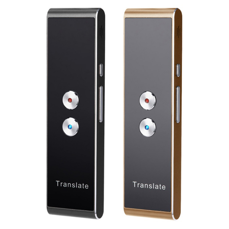 Portable Smart Voice Speech Translator Two-Way Real Time 30 Multi-Language Translation For Learning Travelling Business Meeting image