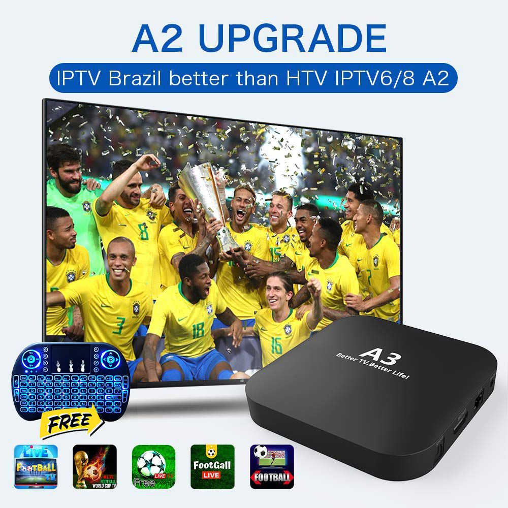 htv box htv5 brasil BOX HTV5 HTV6 BTV Brazilian português TV A3 TV BOX Live IPTV Movie HTV BOX 6 Brazil 4K HD Media Player
